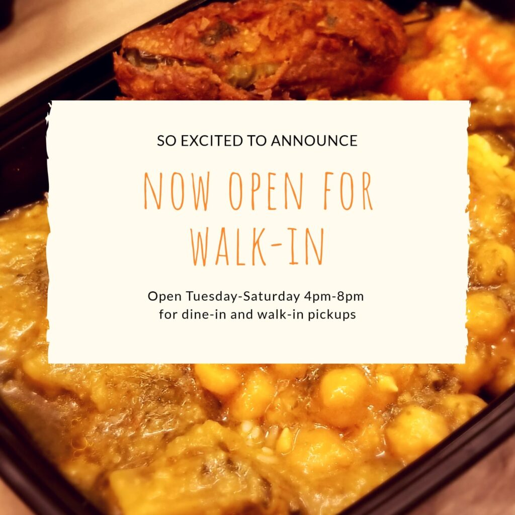 Walk-in service is now available |Tues to Sat| 4 to 8pm